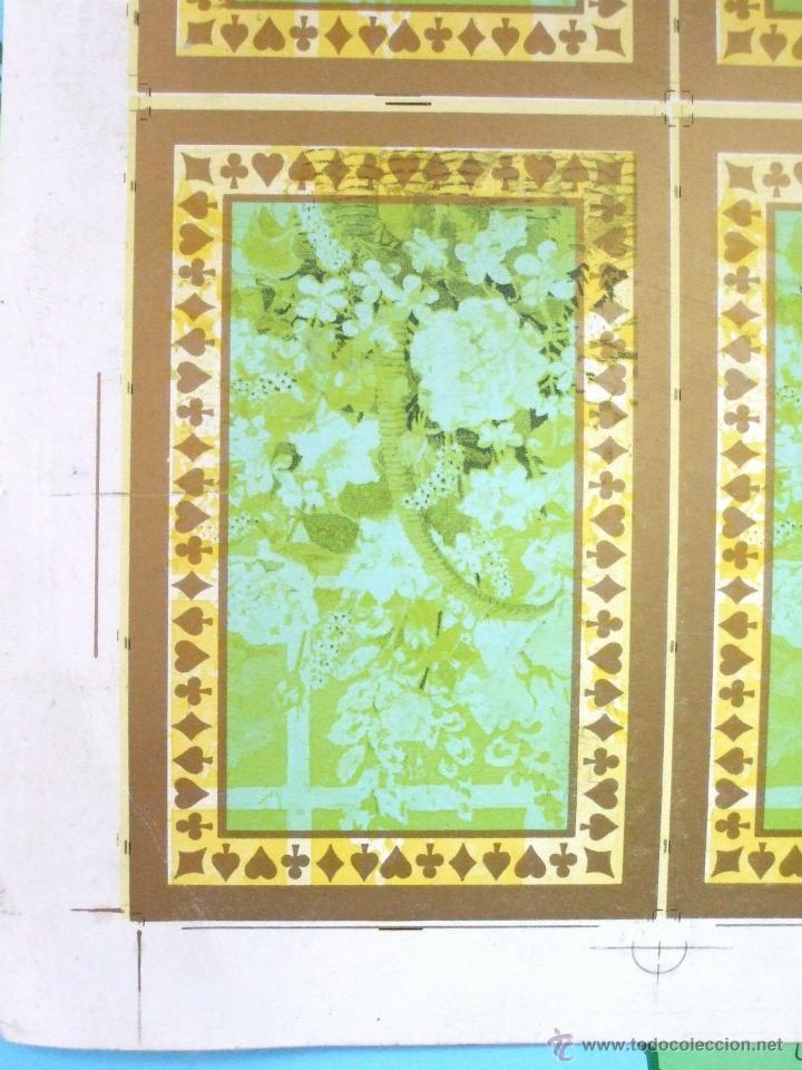 Barajas de cartas: PLIEGO CON 2 BARAJAS COMPLETAS DE POKER - BRIDGE * TIFFANY & CO. New York * 68 x 94 cm. PIEZA RARA! - Foto 13 - 45267704