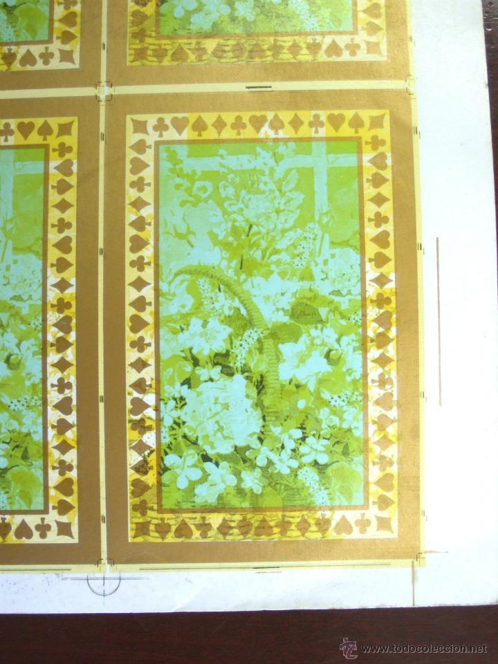 Barajas de cartas: PLIEGO CON 2 BARAJAS COMPLETAS DE POKER - BRIDGE * TIFFANY & CO. New York * 68 x 94 cm. PIEZA RARA! - Foto 15 - 45267704