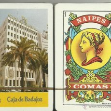 Barajas de cartas: CAJA DE BADAJOZ - BARAJA ESPAÑOLA 40 CARTAS. Lote 45291316