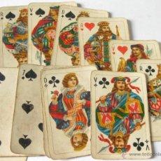 Baralhos de cartas: ANTIGUA BARAJA DE POKER INCOMPLETA. HAY 18 CARTAS. Lote 45333986
