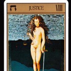 Jeux de cartes: JUSTICIA CARTA DEL TAROT. Lote 45372034