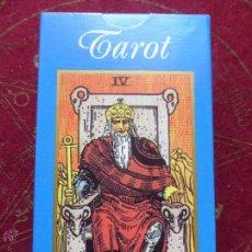 Barajas de cartas: BARAJA DE CARTAS DE TAROT ARTHUR E. WAITE 1910 - PRECINTADO Y CON INSTRUCCIONES -. Lote 227931475