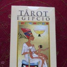 Barajas de cartas: BARAJA DE CARTAS DE TAROT EGIPCIO - PRECINTADO Y CON INSTRUCCIONES. Lote 146862430