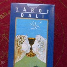 Barajas de cartas: TAROT DE CARTAS DE SALVADOR DALÍ - PRECINTADO Y CON INSTRUCCIONES -. Lote 156727166