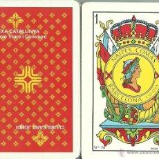 Barajas de cartas: CAIXA CATALUNYA - CLUBS SANT JORDI - BARAJA ESPAÑOLA 50 CARTAS. Lote 45408848