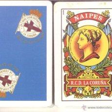 Barajas de cartas: DEPORTIVO DE LA CORUÑA - BARAJA ESPAÑOLA DE 40 CARTAS. Lote 45446016