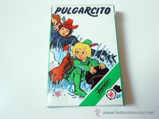 BARAJA INFANTIL HERACLIO FOURNIER PULGARCITO NAIPES CARDS ORIGINAL VINTAGE CARDS BARAJAS (Juguetes y Juegos - Cartas y Naipes - Barajas Infantiles)