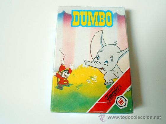 BARAJA CARTAS FOURNIER BAMBI DUMBO NAIPES MADE IN SPAIN CARDS AÑOS 80 ORIGINAL DUMVO (Juguetes y Juegos - Cartas y Naipes - Barajas Infantiles)