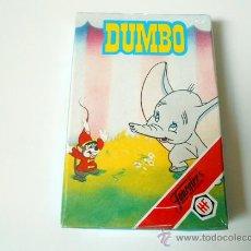 Barajas de cartas: BARAJA CARTAS FOURNIER BAMBI DUMBO NAIPES MADE IN SPAIN CARDS AÑOS 80 ORIGINAL DUMVO. Lote 156891581