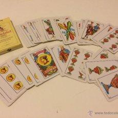 Barajas de cartas: BARAJA DE CARTAS PUBLICIDAD WHITE LABEL (BARAJA ESPAÑOLA) 40 CARTAS. Lote 45537128