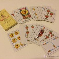 Barajas de cartas: BARAJA DE CARTAS PUBLICIDAD WHITE LABEL (BARAJA ESPAÑOLA) 40 CARTAS. Lote 45541892