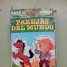 Barajas de cartas: BARAJA DE PAREJAS DEL MUNDO. Lote 45571268