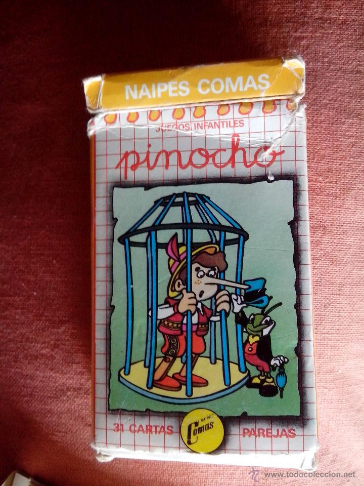 BARAJA COMAS DE PINOCHO (Juguetes y Juegos - Cartas y Naipes - Barajas Infantiles)