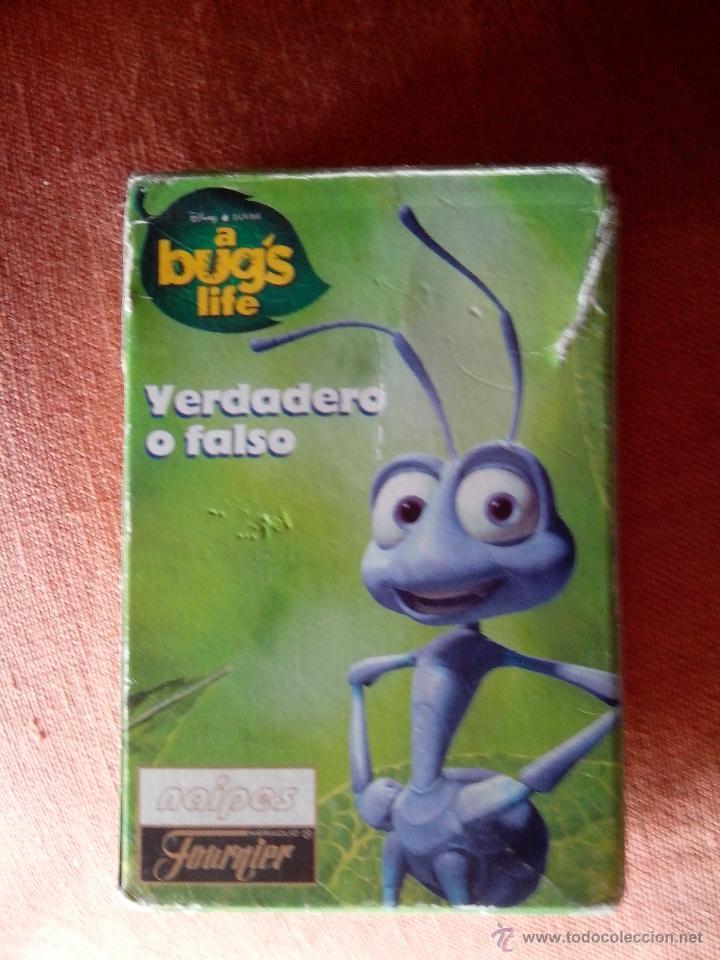 BARAJA DE CARTAS A BUG'S LIFES (Juguetes y Juegos - Cartas y Naipes - Barajas Infantiles)