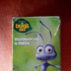 Barajas de cartas: BARAJA DE CARTAS A BUG'S LIFES. Lote 45667145
