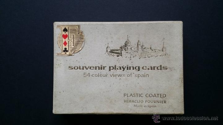 NAIPES , BARAJA TURISTICA HERACLIO FOURNIER. 1966. (Juguetes y Juegos - Cartas y Naipes - Otras Barajas)