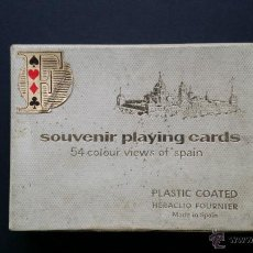 Barajas de cartas: NAIPES , BARAJA TURISTICA HERACLIO FOURNIER. 1966.. Lote 45709164