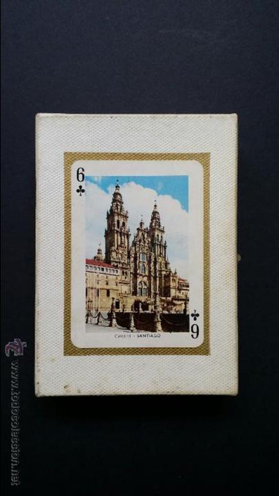 Barajas de cartas: Naipes , Baraja turistica Heraclio Fournier. 1966. - Foto 2 - 45709164