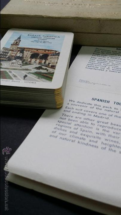 Barajas de cartas: Naipes , Baraja turistica Heraclio Fournier. 1966. - Foto 5 - 45709164