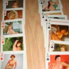 Barajas de cartas: ANTIGUA BARAJA DE CARTAS CON DESNUDOS, MARCA GAJETY, 54 MODELOS, 1969. Lote 45752083