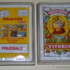 Barajas de cartas: BARAJA DE CARTAS ESPAÑOLA. FOURNIER. PRECINTADA. CUELGA FÁCIL DE COLIS. Lote 45787478