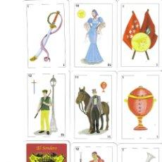 Barajas de cartas: BARAJA ESPAÑOLA MADRID CASTIZO- AÑO 2001. Lote 229383345