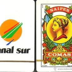 Barajas de cartas: CANAL SUR - BARAJA ESPAÑOLA 40 CARTAS. Lote 45865636