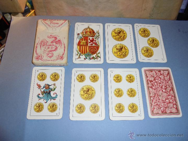 ANTIGUA BARAJA TIPO ESPAÑOLDE 48 CARTAS DIBUJADA POR APELES MESTRES LITOGRAFIADA POR B.BONDORF,FRANK (Juguetes y Juegos - Cartas y Naipes - Baraja Española)