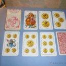 Barajas de cartas: ANTIGUA BARAJA TIPO ESPAÑOLDE 48 CARTAS DIBUJADA POR APELES MESTRES LITOGRAFIADA POR B.BONDORF,FRANK. Lote 45910702