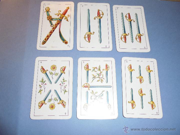 Barajas de cartas: ANTIGUA BARAJA TIPO ESPAÑOLDE 48 CARTAS DIBUJADA POR APELES MESTRES LITOGRAFIADA POR B.BONDORF,FRANK - Foto 3 - 45910702