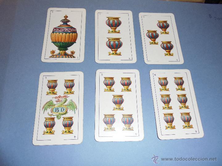 Barajas de cartas: ANTIGUA BARAJA TIPO ESPAÑOLDE 48 CARTAS DIBUJADA POR APELES MESTRES LITOGRAFIADA POR B.BONDORF,FRANK - Foto 8 - 45910702