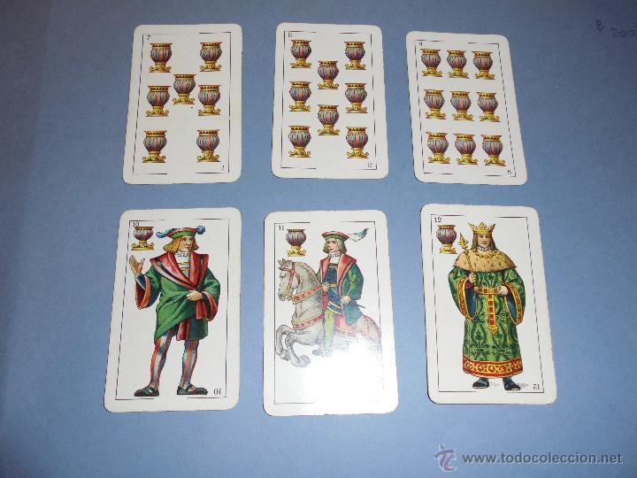 Barajas de cartas: ANTIGUA BARAJA TIPO ESPAÑOLDE 48 CARTAS DIBUJADA POR APELES MESTRES LITOGRAFIADA POR B.BONDORF,FRANK - Foto 9 - 45910702