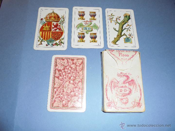 Barajas de cartas: ANTIGUA BARAJA TIPO ESPAÑOLDE 48 CARTAS DIBUJADA POR APELES MESTRES LITOGRAFIADA POR B.BONDORF,FRANK - Foto 11 - 45910702
