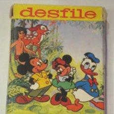 Jeux de cartes: BARAJA INFANTIL DESFILE WALT DISNEY HERACLIO FOURNIER AÑO 1974 COMPLETA. Lote 45927468