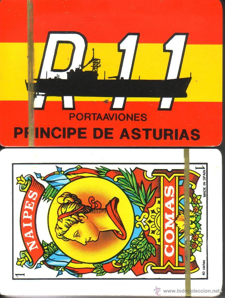 PORTAAVIONES PRINCIPE DE ASTURIAS - BARAJA ESPAÑOLA DE 40 CARTAS (Juguetes y Juegos - Cartas y Naipes - Otras Barajas)