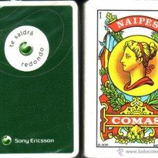 Barajas de cartas: SONY ERICSSON - BARAJA ESPAÑOLA DE 40 CARTAS. Lote 45965305