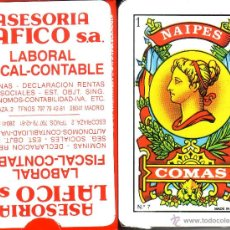 Barajas de cartas: ASESORIA LAFICO - BARAJA ESPAÑOLA 40 CARTAS. Lote 45980809