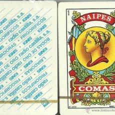 Barajas de cartas: IGNIS RADIO CASTILLA - BARAJA ESPAÑOLA 40 CARTAS. Lote 46077940