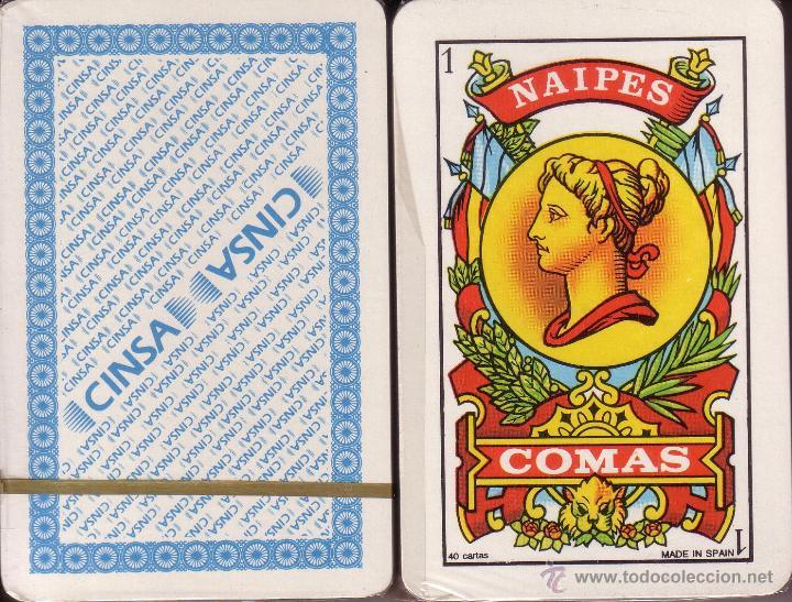 CINSA - BARAJA ESPAÑOLA 40 CARTAS (Juguetes y Juegos - Cartas y Naipes - Baraja Española)
