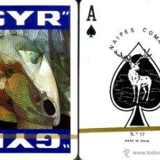 Barajas de cartas: GYR AZUL - BARAJA DE POKER. Lote 46108602