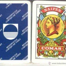 Barajas de cartas: RESIDENCIAL CORTIJO DE VIDES - BARAJA ESPAÑOLA DE 40 CARTAS. Lote 46120106