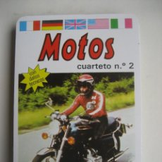 Jeux de cartes: MOTOS. 32 CARTAS NAIPES COMAS CON DATOS TECNICOS DE CADA MOTO. PRECINTADO. Lote 120178835