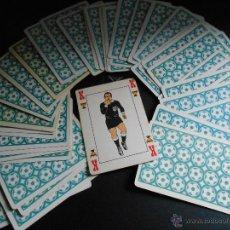 Barajas de cartas: BARAJA FUTBOL HERALDICA CASTANDER. MUNDIAL ESPAÑA 1982. Lote 46167085
