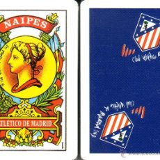 Barajas de cartas: ATLETICO DE MADRID - BARAJA ESPAÑOLA DE 40 CARTAS. Lote 108399448
