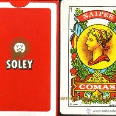 Barajas de cartas: CAFES SOLEY - BARAJA ESPAÑOLA 50 CARTAS. Lote 46195696