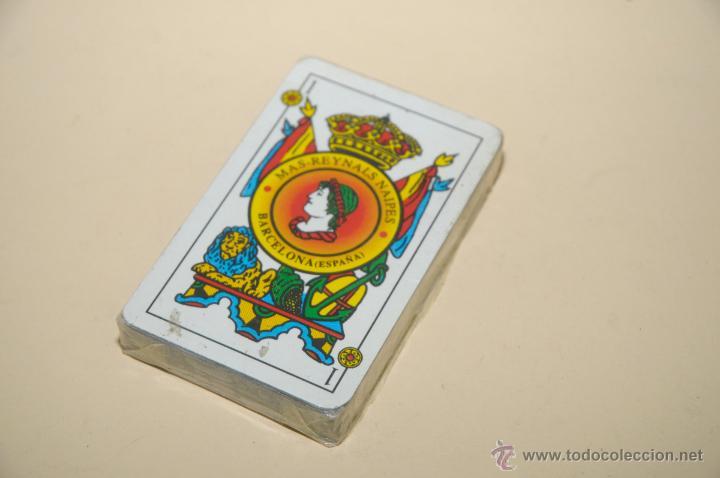BARAJA DE CARTAS ESPAÑOLAS MAS-REYNALS NAIPES (Juguetes y Juegos - Cartas y Naipes - Baraja Española)
