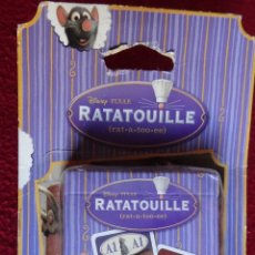 Barajas de cartas: RATATOUILLE JUEGO DE CARTAS FAMILIAR DE CARTAMUNDI MADE IN BELGIUM PRECINTADO. Lote 46222792
