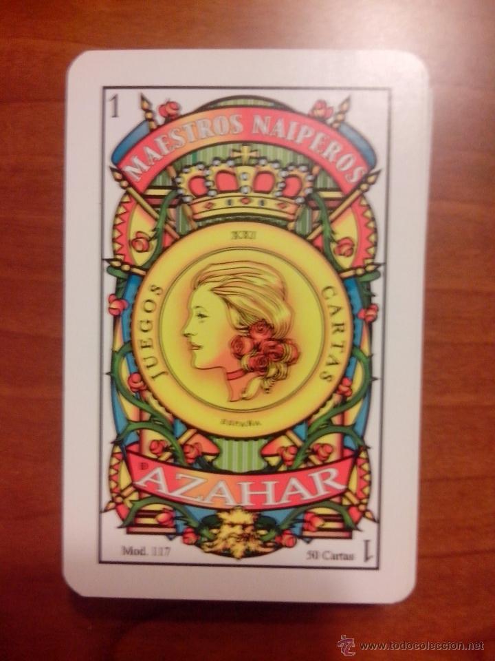 BARAJA ESPAÑOLA MAESTROS NAIPEROS AZAHAR (Juguetes y Juegos - Cartas y Naipes - Baraja Española)