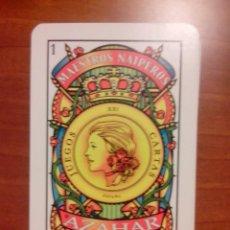 Barajas de cartas: BARAJA ESPAÑOLA MAESTROS NAIPEROS AZAHAR. Lote 46228059
