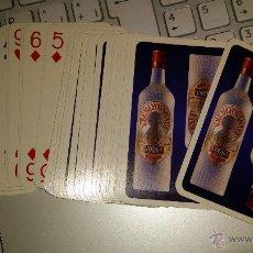 Barajas de cartas: BARAJA DE CARTAS DE POKER DE PUBLICIDAD DE VODKA KREMLYOVSKAYA. Lote 46321712